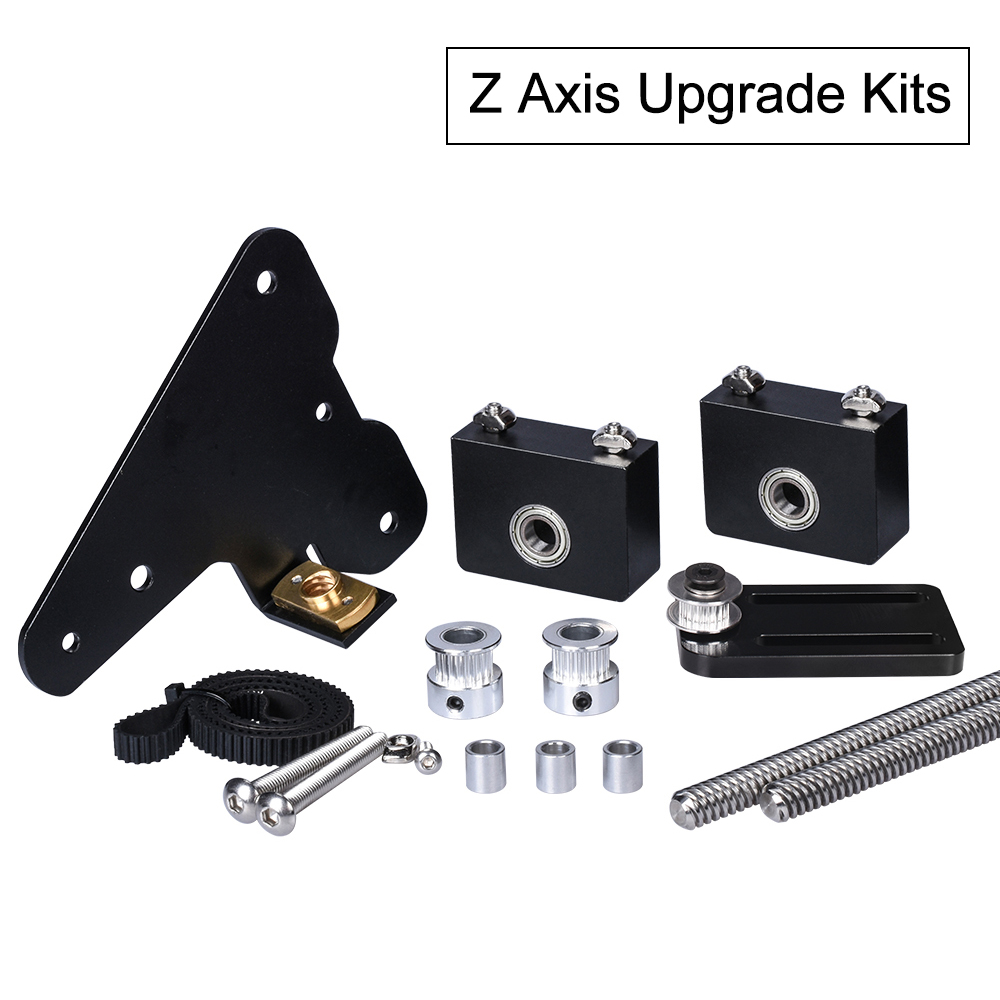 3D Printer Parts Ender 3 Upgrade Kit Creality CR-10 Dual Z axis use with single stepper motor CR10 Dual Z Tension Pulley set
