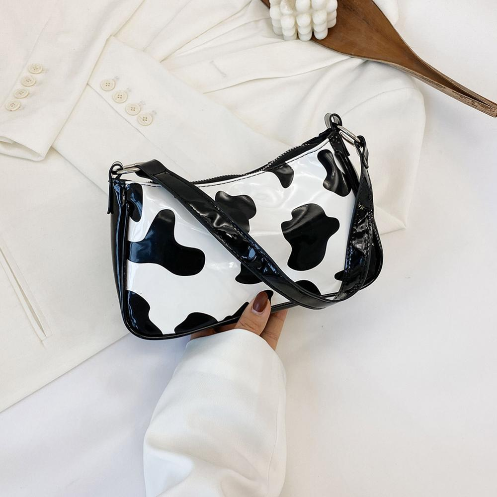 Повседневные женские сумки брендовые дизайнерские женские сумки с коровьим узором модные сумки-мессенджеры на плечо для женщин 2020
