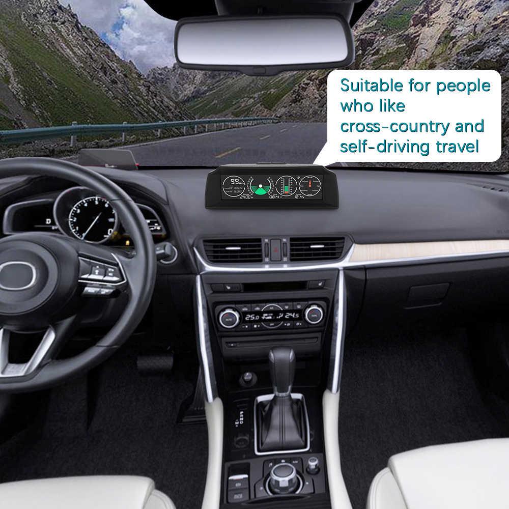 HUD ディスプレイヘッドアップディスプレイ GO2 車の Gps HUD 行く 2 OBD OBD2 診断ツールプロジェクターデジタルスピードメーター車の速度セキュリティ警報