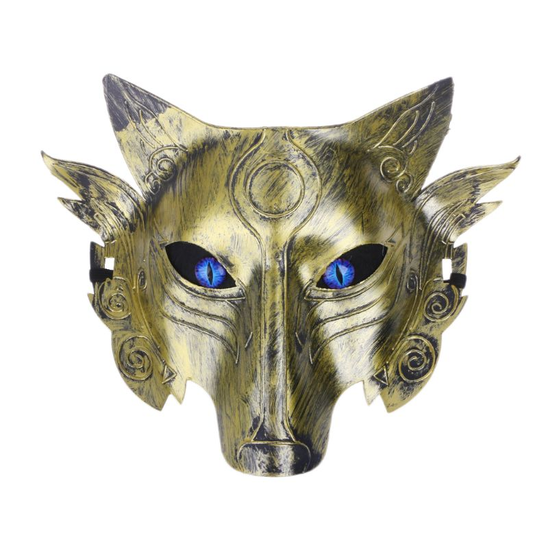 Werewolf Wolf Mask Masquerade Cosplay Props Movie Theme Halloween Party Supplies