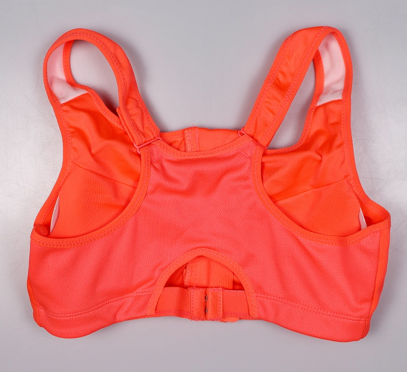 Women's Zipper Push Up Sports Bra 29