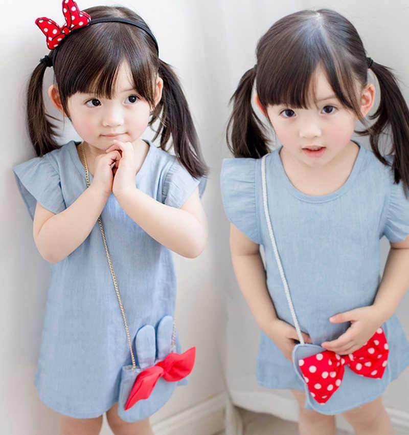 Платье для маленьких девочек 2019 осенне-зимнее теплое рождественское платье с рисунком для девочек трикотажная одежда с круглым вырезом для девочек