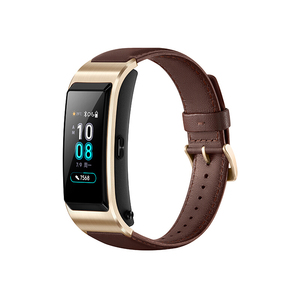 Image 2 - Huawei TalkBand B5 Talk Band Smart Bracelet Wearable Sports Bluetooth Wristbands Touch AMOLED Screen Call Earphone Band