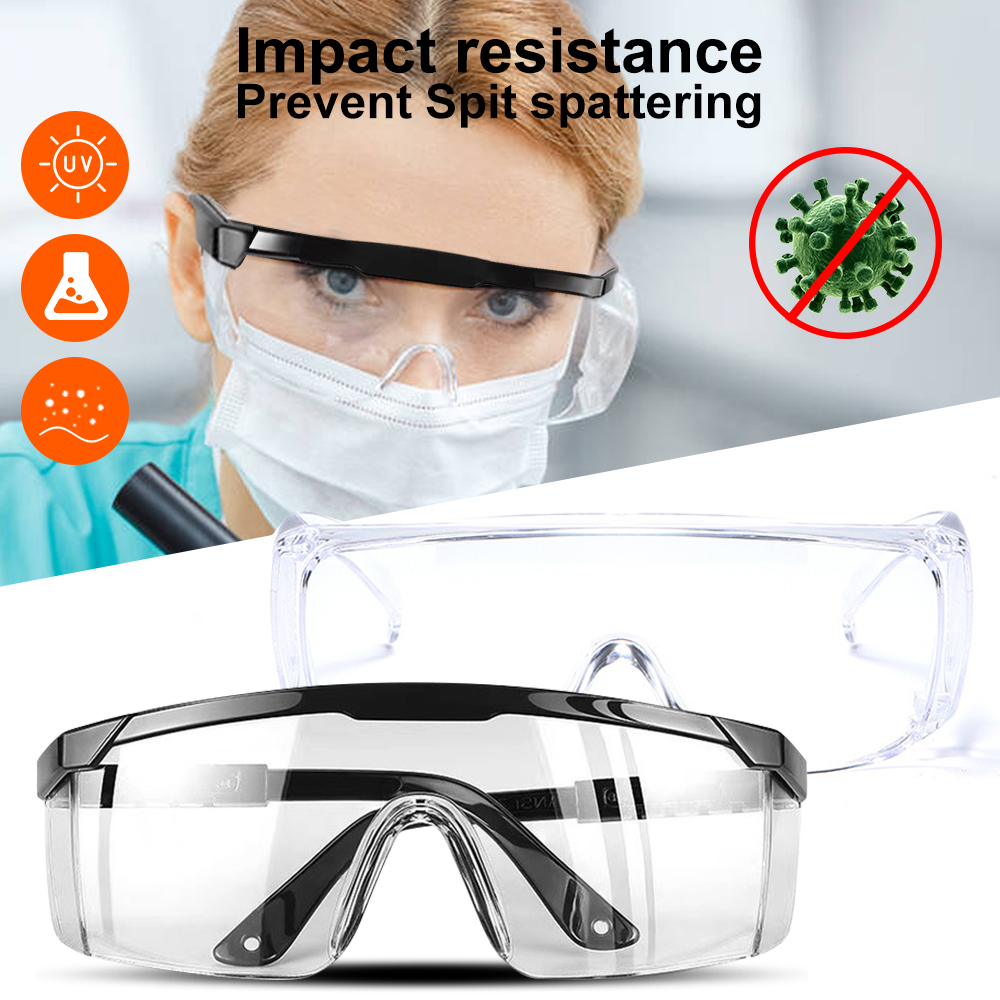Closed Safety Glasses Cycling Goggles Eyewear Anti Dust Windproof Anti Fog Prevent Spit Spattering Eye Wear For Eye Protection