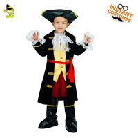 QLQ Original Halloween Carnival Party Deluxe Kids Pirate Costume Boys Captain Cosplay Viking Prince Outfits Fancy Dress Costume