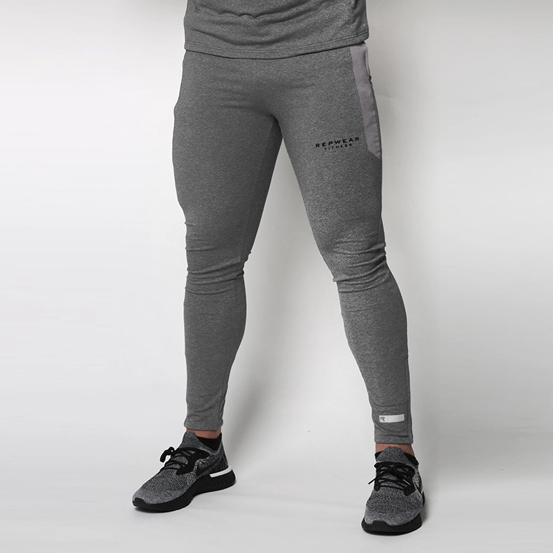 Mens Fitness Workout Pants Skinny Sweatpants Trousers Jogger Pants New 2019 Men Gyms Pants Casual Elastic Cotton Pants