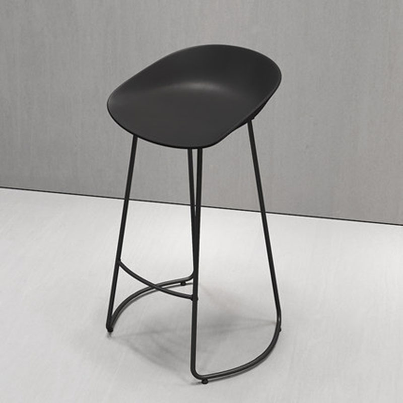 Simple Bar Chair Bar Stool Cafe Chair Cafe Front Desk Stool Creative Fashion Household Nordic Multicolor