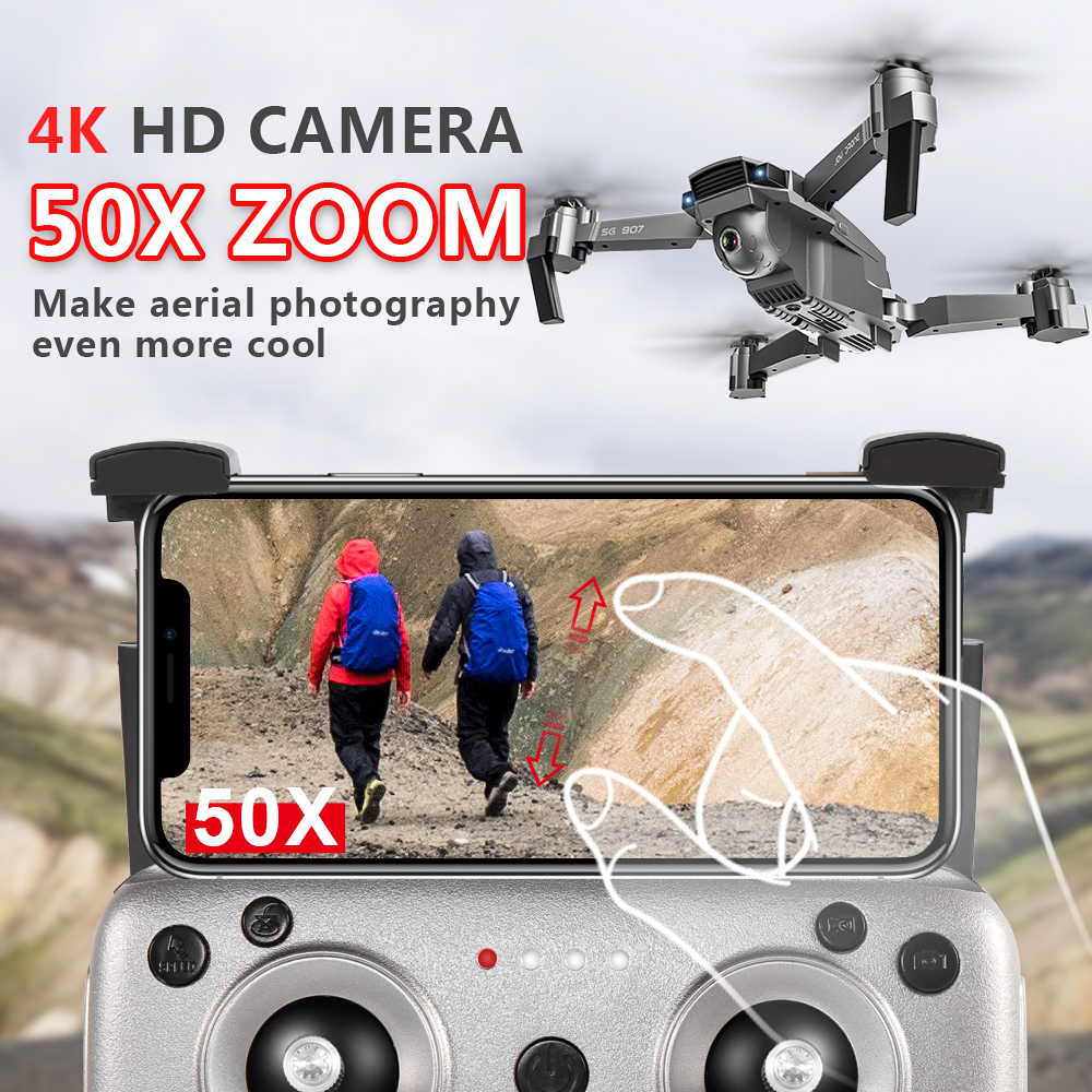 SG907 WIFI RC Quadcopter GPS Drone with 4K HD Dual Camera for Wide Angle Video Shooting 5