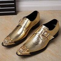 Sommer Männer Business kleid leder schuhe Luxus Marke Edle Elegante für Hochzeit kleider Schuhe der Männer modell Tanzen Trend schuhe