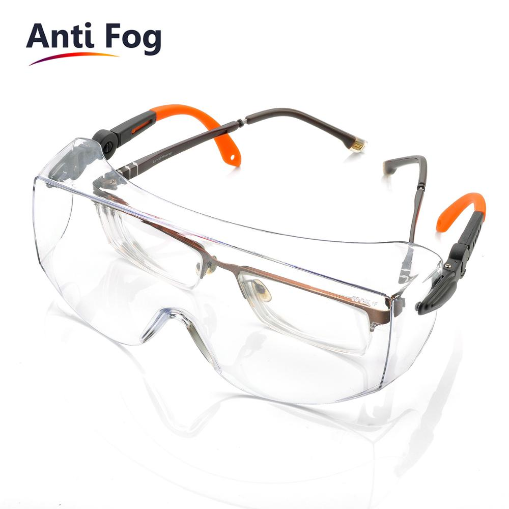 SAFEYEAR Free Shipping Safety Glasses Spectacles Eye Protection Goggles Eyewear Dental Work Outdoor New Sports