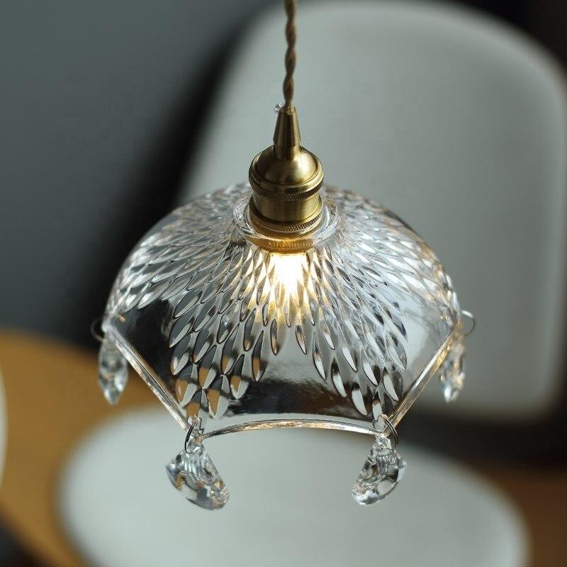 Glass Lighting Chandelier Crystals Modern Crystal Pendant Lamp For Homes Lamparas De Techo Colgante Lustre Pendente