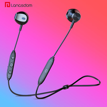 Langsdom Hoofdtelefoon Draadloze Bluetooth Oortelefoon Voor Xiaomi Bass Draadloze Hoofdtelefoon Met Mic Half In Ear Headset Oordopjes Voor Telefoon