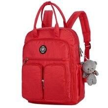 Водонепроницаемый нейлоновый рюкзак для женщин, рюкзаки для путешествий с несколькими карманами, женская школьная сумка для девочек-подростков, книга Mochilas