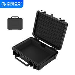 Защитная коробка ORICO для жесткого диска 3,5 дюйма, Водонепроницаемая + ударопрочная + Пыленепроницаемая функция, безопасный замок и защелкива...