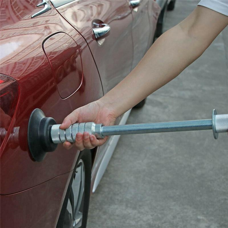 Air Pneumatic Dent Puller Car Auto Body Repair Suction Cup Tool Kit Pneumatic Automotive Body Puller Heavy Duty Car Dent Hammer