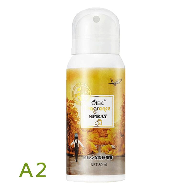Antiperspirants Spray #A2 80ml Perfume Parfum Men Perfume Feminino Sweat Prevent Sweating Remove Odor Deodorants Spray-s
