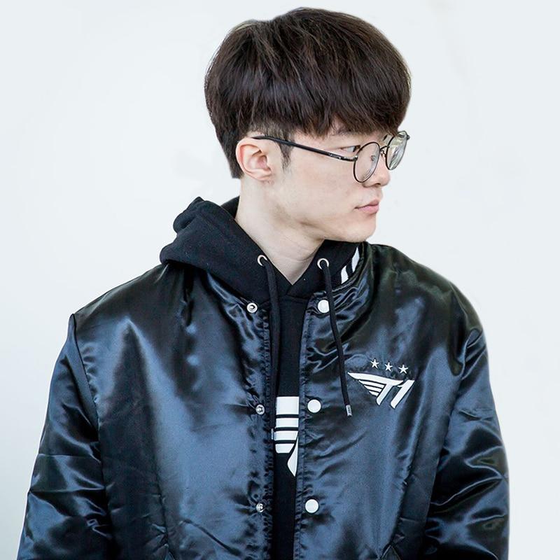 Embroidery Jacket FAKER Fans Gift LCK SKT Jackets SK Telecom T1 LOL Jerseys Men Women Long Sleeve Men's Jackets