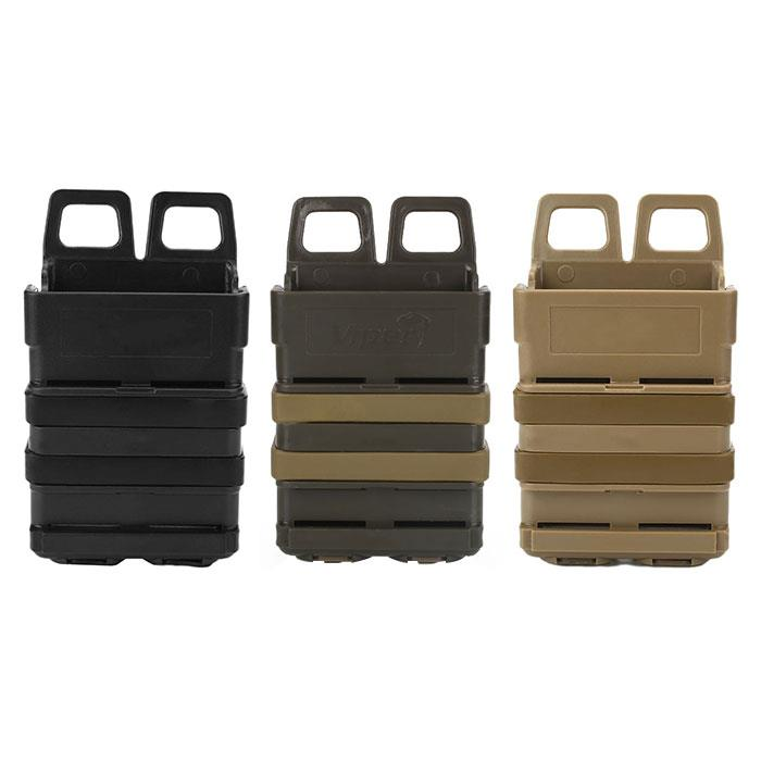Tactical FastMag 5.56 .223 Magazine Pouch Fast Mag Holster For MOLLE System