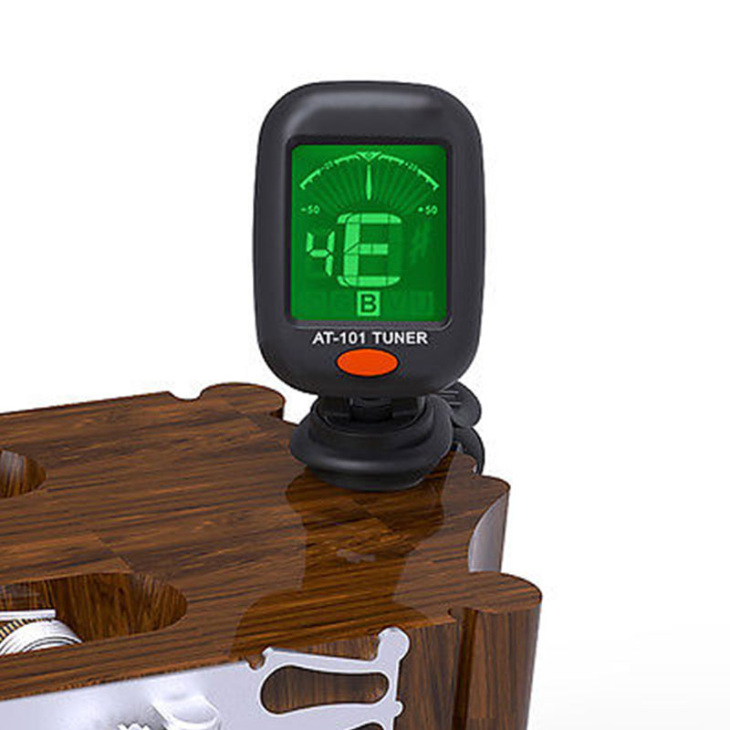 Clip-on Electric Guitar Tuner Violin Ukulele Bass Electronic Tuning Tuner Rotating Clip High Sensitivity Guitar Accessories