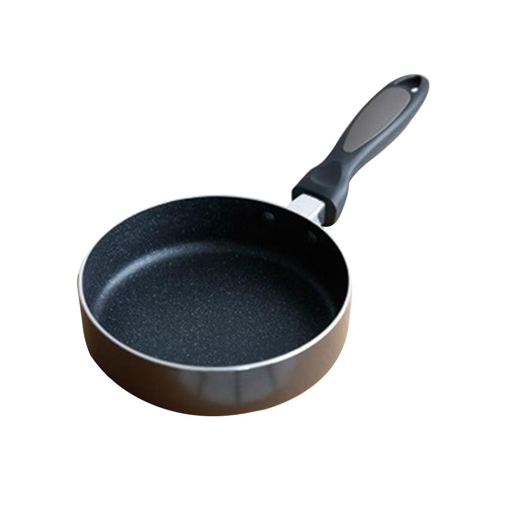 16cm Cookware Pancake Egg Pot Breakfast Non Stick Omelette Sauce Anti-scratch Coating Home Mini Frying Pan Aluminum Alloy