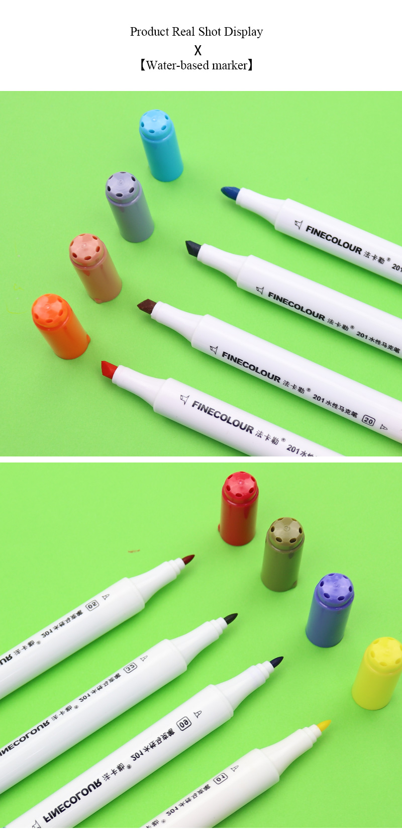 Da Arte Brush Pen Set Dupla Headed