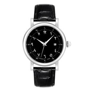 Image 3 - גברים ערבית שעונים מוסלמי שעון יד אוטומטית עצמי רוח תנועת יוקרה אורדו מספר אזאן שעונים