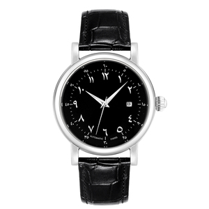 Image 3 - Big Case Arabic Watch for Man Automatic Self Wind Watches Arabic Numerals Dial Face Watches Men Automatic Mechanical Movement