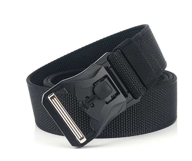 H0d5b5565cb2943ca8aea5dc255a6dca88 - HSSEE New Mens Tactical Belt Hard Metal Quick Release Magnetic Buckle Mens Military Nylon Belt 3mm Soft Real Nylon Sports Belt