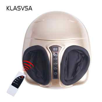 KLASVSA Electric Shiatsu Foot Massager Far Infrared Heating Kneading Air Compression Reflexology Massage Device Home Relaxation - DISCOUNT ITEM  15% OFF All Category