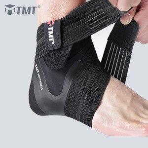 TMT спортивный бандаж для поддержки лодыжки, спортивная защита для ног, регулируемый ремешок, коврик для футбола, велоспорта, спортивные носк...