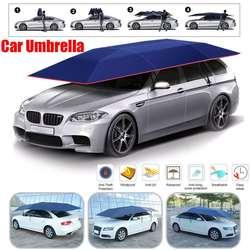 Parasol de coche para exteriores semiautomático, sombrilla, sombrilla, cubierta de techo, Kit antiuv, sombrilla para coche, sombrilla para coche