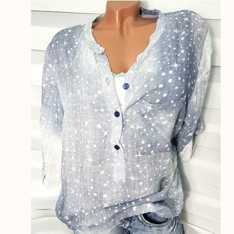 ladies tops women blouse white blouses 2020 shirts woman gothic vintage long sleeve shirt harajuku plus size  korean print