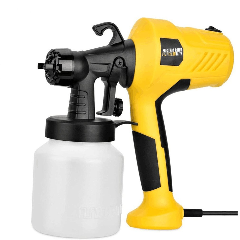 Electric Paint Spray Gun Portable Spray Gun Alcohol Sprayer Handheld Plastic High Volume Low-Pressure Smooth