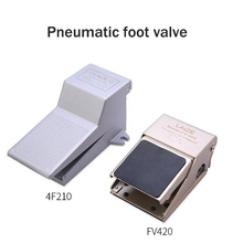 4 way/3 way 2 position air pneumatic foot pedal valve 1/4 inch BSP FV420 FV320 4F210-08 4F210-08L Manual valve 10pcs lot 4f210 08lg pneumatic foot switch locking the pedal switch valve stamped on the valve two five way shield 1 4 npt