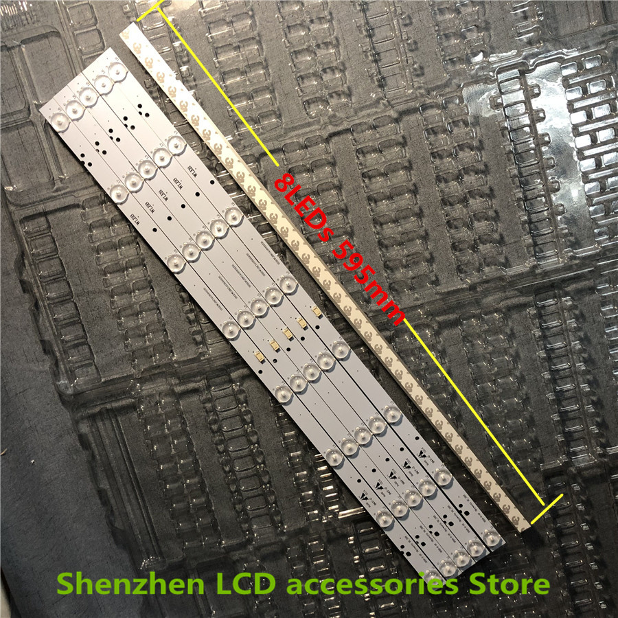 36Pieces/lot FRO SKYWORTH 32_3X8 Monitor Panel SH32MJE8MY3024000235 8LEDs 595mm 100%NEW