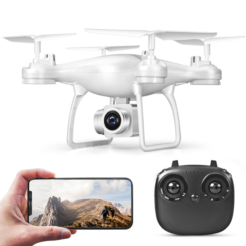 Cross Border New Products TXD-8S Set High Unmanned Aerial Vehicle High-definition WiFi Real-Time Aerial Remote-control Aircraft