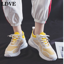 2019 Casual Shoes for Women Fashion Breathable Outdoor Sneakers Flats Vulcanize