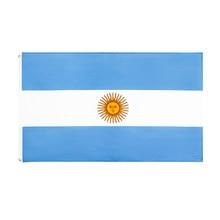 Yehoy wiszące 90*150cm arg ar flaga argentyny do dekoracji