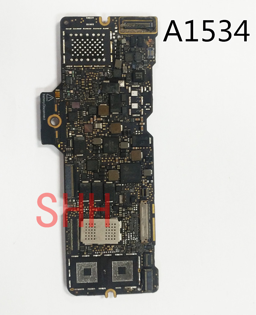 "Genuine Apple MacBook I//O USB-C Board Retina 12/"" A1534 Early 2015 MF855 MF865"