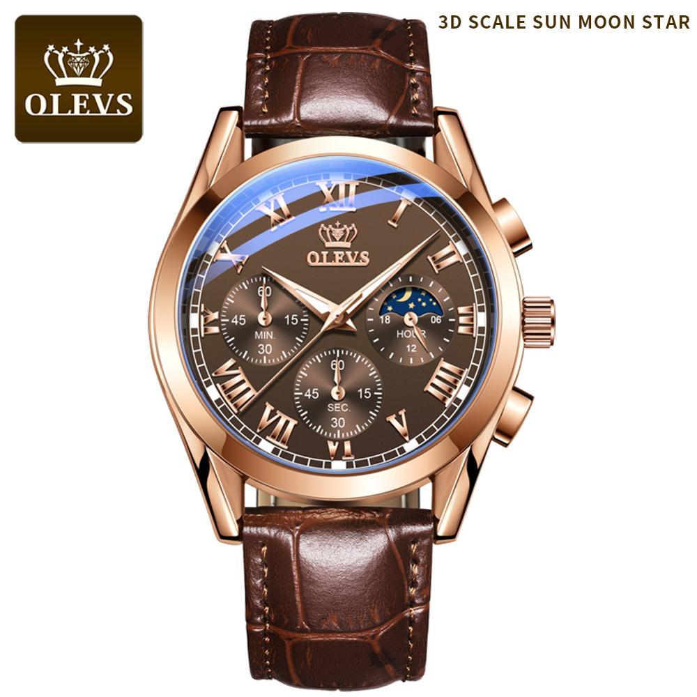 Luxury watches quartz men