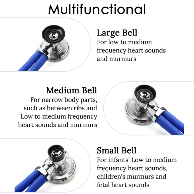Multifunctional Doctor Stethoscope Professional Doctor Nurse Medical Equipment Cardiology Medical Stethoscope Medical Devices 3