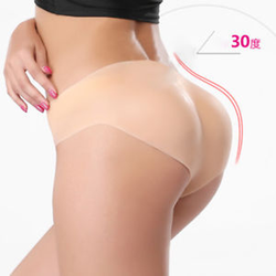 1000g Vrouwen Zachte Siliconen Sexy Panty Maat L Full Body Gewatteerde Bil Enhancer Shaper Broek Latex Broek Shapers Vrouwen shapewear