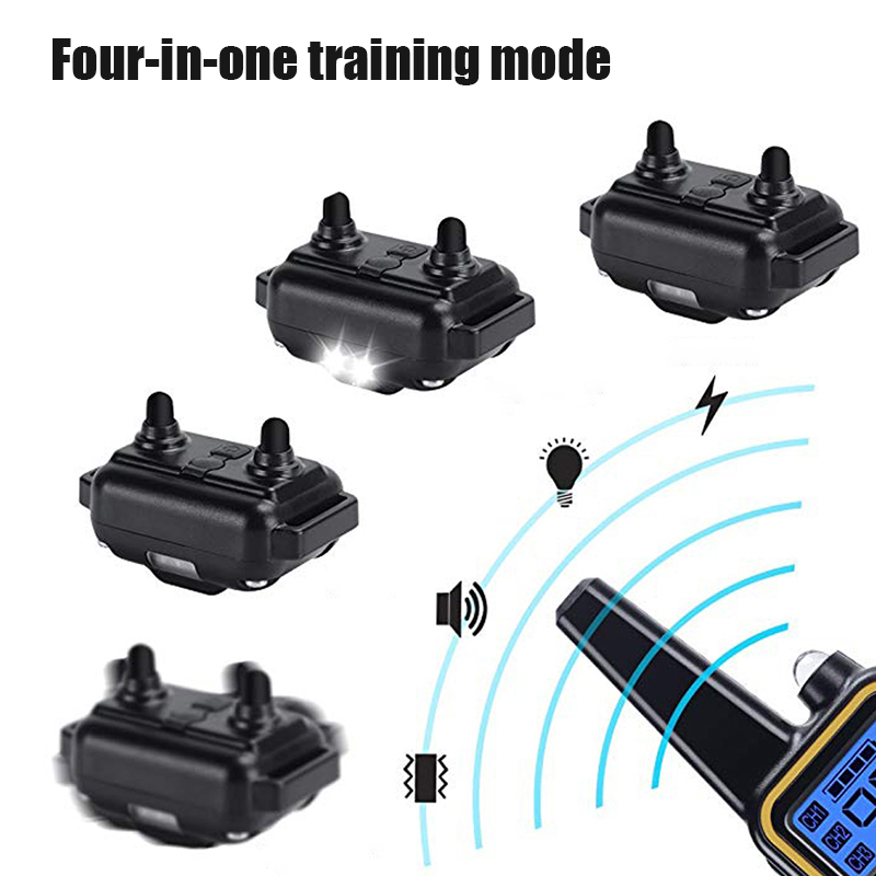Dog-Training-Collar Lcd-Display Remote Electric Waterproof Pet Rechargeable 800m