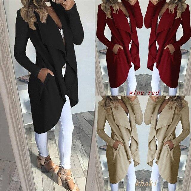 Overcoat Jumper Jalcket Plus Size 1