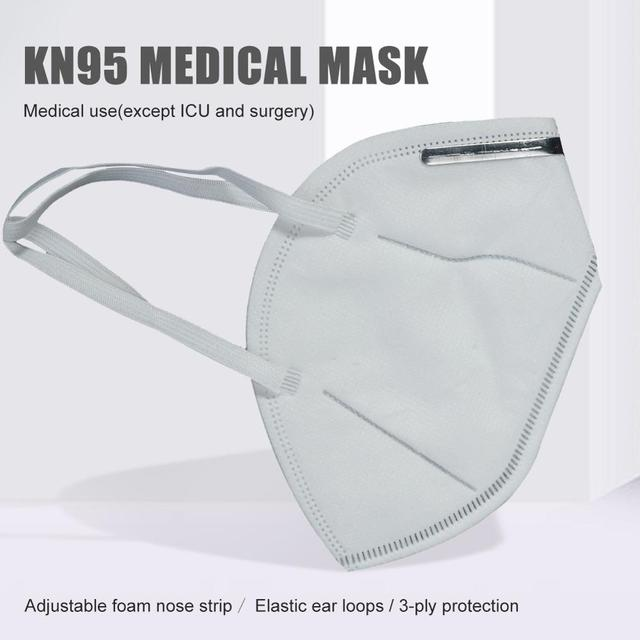 Disposable  Mouth Mask  Non-woven Ear Loop Anti-Dust Facial Protective Cover Masks bacteria proof Flu Face Masks 3