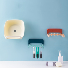 Nail-Free Washbasin Rack Wall-Mounted Toilet Bathroom Storage
