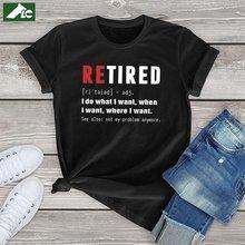 Flc kawaii топ футболка женщин хлопок буквенным принтом retired