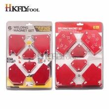 6 – triangle de soudage sans interrupteur, outil magnétique à angles fixes multiples, accessoires de soudage