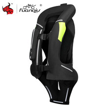 NEW Motorcycle Air Bag Vest Body Armor Men Motorcycle Jacket Reflective Racing Motocross Riding Airbag System Protective Gear