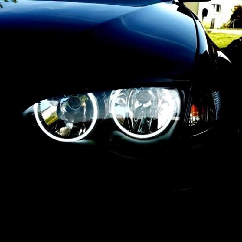 HochiTech blanc 6000K CCFL phare Halo ange démon yeux Kit ange yeux lumière pour BMW E46 NON projet coupé berline
